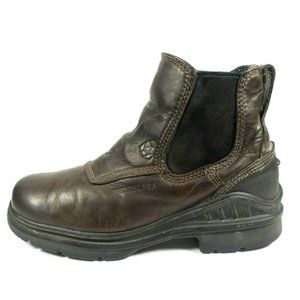 Ariat Barnyard Waterproof Distressed Leather Boots